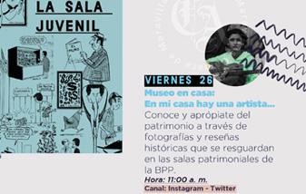 MUSEO EN CASA: EN MI CASA HAY UNA ARTISTA…